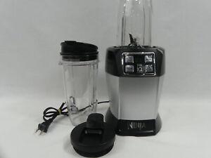 Nutri Ninja BL480 Auto-iQ 2-Speed Blender - Silver