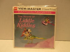 1970 GAF View Master Stereo Reels The World Of Liddle Kiddles Packet No. B577