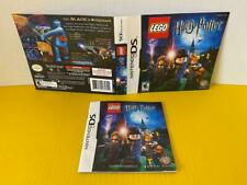 Nintendo DS Cover Art & Instruction Booklet Lego Harry Potter Years 1-4