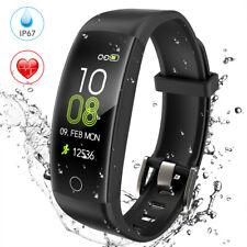 Fitness Tracker Smart Watch Bracelet Wristband Fitbit Style Activity Monitor