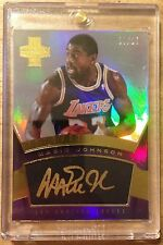 Magic Johnson 2012-13 Panini Innovation Innovative GOLD Ink Auto #'d/25 - LAKERS