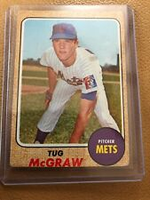 1968 Topps #236 Tug McGraw  VG Miracle Mets