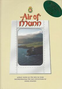 """Isle of Man 2001 """"Air of Mann"""" - Year Book -Views & Stamps"""