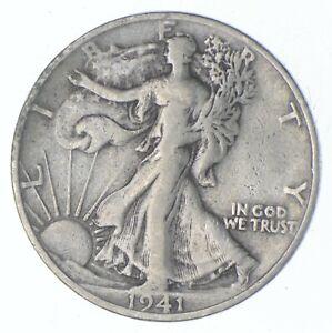 Better 1941-S - US Walking Liberty 90% Silver Half Dollar Coin Set Break *704
