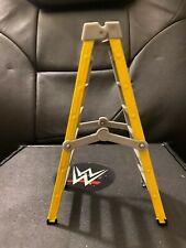 WWE Mattel Figures Accessories Lot Ringside Elite The Rock's Yellow Ladder