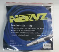 Derailleur Cable Housing by NERVZ, Double Jacket, 25ft with ferrules