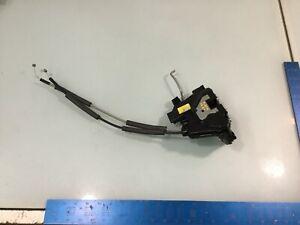 11-13 Kia Soul Front Right Door Latch Lock W/ Cables OEM E