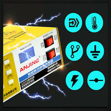 Electric Car Dry&wet Battery Charger Intelligent Pulse Repair Auto 12V/24V 250V