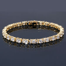 Fashion Jewelry Round Cut White Yopaz Tennis Statement Fashion Bracelet
