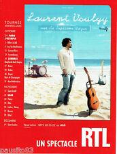 PUBLICITE ADVERTISING 125  2007   LAURENT VOULZY  tournée La septième Vague