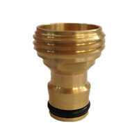 Brass Threaded Hose Water Pipe Connector Tube Tap Adaptor Fitting Garden  YT