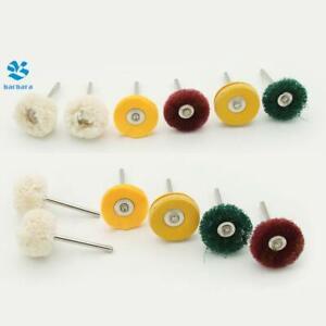 6PCS Dremel Wool Polishing Buffing Wheels Metals Grinding Wheel for Rotary Tool