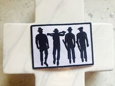 Silhouette B&W Clockwork Orange BandRock Music Embroidered Iron On Patches Patch