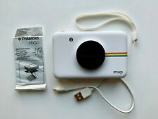 Polaroid Snap Instant Print Digital Camera White & Extra Zink Paper Pack