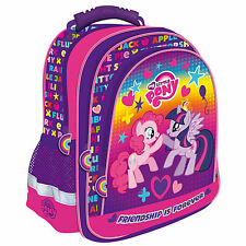 My Little Pony Backpack School Bag Gym Travel Shoulder Messenger MLP Girls