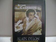 DVD  ALAIN DELON LE RETOUR DE CASANOVA / NEUF SOUS BLISTER