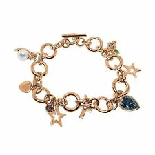 Swarovski Element and Imitation Pearl Bracelet