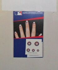 HOUSTON ASTROS 20  FINGERNAIL TATTOOS DECALS FAST FREE SHIPPING