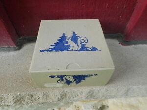 NOS Vintage GERMAN Bambi BAROMETER WEATHER HOUSE BOX #45 w/box (S6)