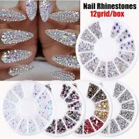 Crystal Rhinestone adornment Nail Decoration Nail Jewelry Nail Art Manicure a