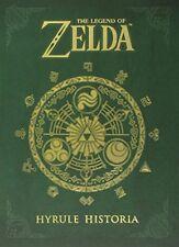 The Legend of Zelda: Hyrule Historia by Shigeru Miyamoto, Hardcover, New