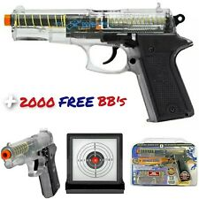 Colt Double Eagle Spring Powered Airsoft Hand Gun W/ 2000 BB's Target Pack BAXS