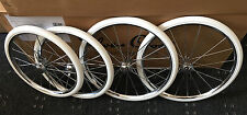 "Lot de 4 SILVER CROSS KENSINGTON COACH BUILT PRAM roues + pneus Tailles 14"" 16"""