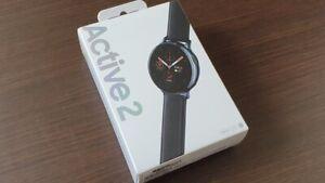 Samsung Galaxy Watch Active 2 44mm Stainless Steel - Black