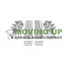"""Pair of 2"""" Vertical Track for 8' Garage Door Plus Hardware Garage Door Opener"""