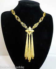 VTG Crown Trifari Alfred Philippe Couture Necklace
