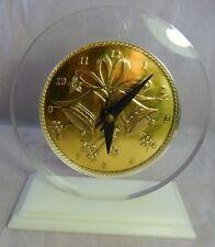 Vtg Mid Century MARION KAY Kienzle Quartz Clock Model 25 Wedding Bells Made USA