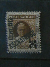 Vatican City - 60c on 2L brown Postage Due - sgD19 MM