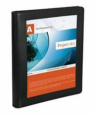 "Office Depot Brand Premium Leatherette 1"" Presentation View Binder w/Pen  (NEW)"