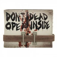The Walking Dead Don't Open Dead Inside 3D Snap Close Bi-Fold Wallet Boxed