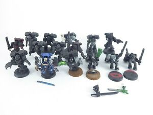 15 x Sturmtrupp - Assault Squad der Blood Angels - teilweise bemalt -