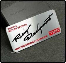TRD Motorsport T Sport Badge Emblem Sticker MR2 Celica Yaris Starlet 91