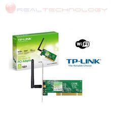 SCHEDA DI RETE WIRELESS WIFI WLAN N 150Mbps PCI TP-LINK 150 Mbps TL-WN751ND