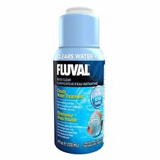 Fluval Quick Clear 120ml Clears Cloudy Water Prev. Nutrafin Clear Fast