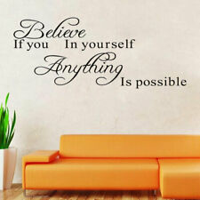 Removable Wall Decal Stickers Vinyl Art Quote Bedroom Mural DIY Rooms L Re