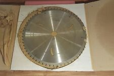 "Leuco Topline 26"" 60 Tooth Saw Blade Carbide Tip Sawmill Farm NEW OPENED BOX"