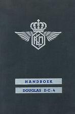 DOUGLAS DC-4 / C-54 SKYMASTER - HANDBOEK ONDERHOUD KLM - 1947