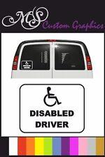 Disabili DRIVER Adesivo Auto, disabili, 12 Colori A5 Taglia 15cm x 20cm