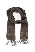 écharpe laine mélangée PIERRE CARDIN imprimé marine/beige - neuf