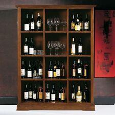 Mobile Soggiorno Credenza Libreria 12 vani porta bottiglie