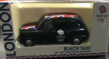Corgi London 2012 Double Black Taxi Olympic Games Souvenir