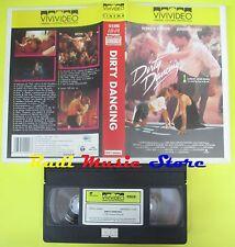 film VHS DIRTY DANCING 1990 patrick swayze jennifer grey VIVIVIDEO (F60) no dvd