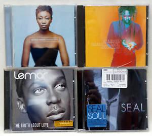 Job Lot British Soul CDs Beverley Knight Lemar Soul II Soul Seal EX Condition