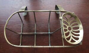 An Unusual Brass Soap Dish / Rack ...To Fit Over a Roll Top bath ?