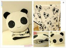 OUT OF STOCK 2 in 1 Panda Pillow with Blanket (Big Blanket)