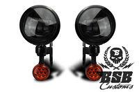 LED Zusatzscheinwerfer Blinker Touring FLHX Street Glide 06 - 13 Harley Davidson